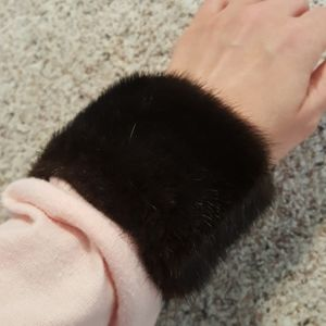 Faux Fur Cuffs mink
